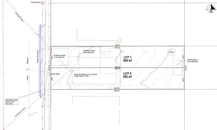subdivision Doyen Planning